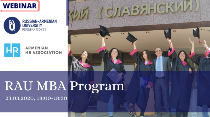 new RAU MBA Program